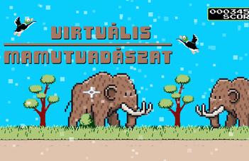 Virtuális mamutvadászat - Regisztrálj a Kutatók Éjszakájára!