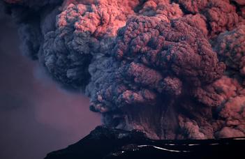 Vulkánkitörések és a történelem